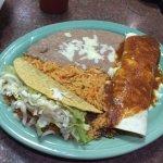 Jalisco Special - hard taco and burrito