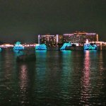 Electrical Water Pageant Parade from Narcoossee's
