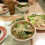 The standard pho, they provide fresh ingredients to add to the pho along with it.