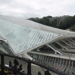 Guillemins Station from Room 473