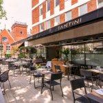 Santini Restaurant Terrace