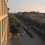Ausblick - links vom Balkon