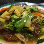 May Palace Mixed Chinese Vegetables with Addition of Beef--Fresh, High Quality Ingredients