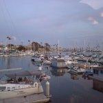 Oceanside Harbor at twilight