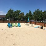 A nice break from the main drag of PIB. Lots of golf cart parking & a nice big, clean pool w/ lo