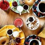 Juice, Coffee and Breakfast