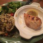 Chicken, Wild Rice, and Veggies
