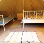 The bell tent!