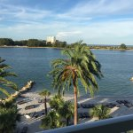 View from room, overlooking sand key