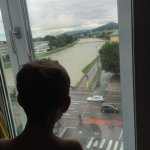 Son is following the river flow from room 501