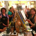 A great night at Sip 'n Canvas!