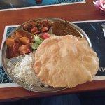 Rishikesh Thali - vegetarisch