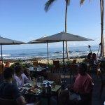 Breakfast in paradise!