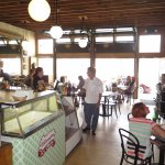 Gil's Goods offers indoor and outdoor dining in Livingston.