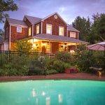 Garden Cottage at dusk