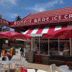 Bonnie Brae Ice Cream with outdoor seating.