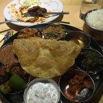 Wow veg thali
