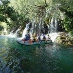 Cetina river - action pack rafting in beautifull enviroment