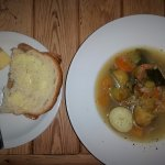 Welsh Cawl - i.e. a lovely soup/broth