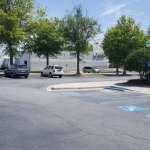 Other side of parking lot