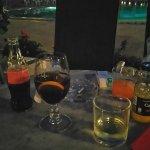 Wieczór w kawiarni przy basenie Hotelu Arkadia