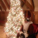 Visit with Father Christmas at our annual Holiday Open House!