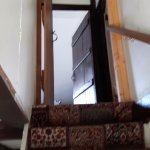 steep stairs to top suite and no lefthand side handrail