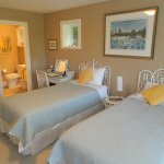Wicker Room with twin beds