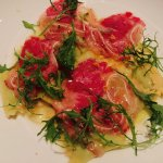 Spring Pea Agnolotti with Cured Meat