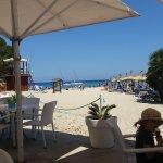 Strand Bar super lecker, dort freies WiFi