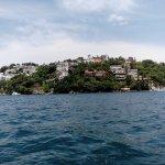 vista a la isla