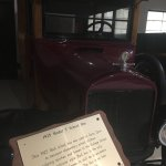 1925 Model T school bus, one of the few motorized cars in the Carriage House