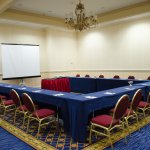 Meeting room set-up, spacious with varied sized breakout rooms