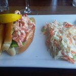 Twin Lobster Roll with cole slaw