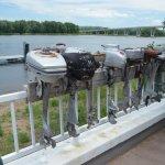 old motors on the rail
