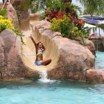 Water Slide at Hard Rock Hotel Vallarta
