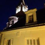 Collégiale St Ours (vue de nuit) photo prise depuis la chambre