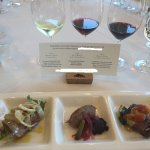Wine and food pairing at Hess