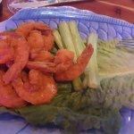 Rusty's, games & Buffalo Shrimp
