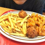 Bam Bam Shrimp....my son had it 5 times while we were there on vacation!