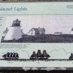 The Three Sisters Lighthouses Foto