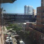 Petco Stadium from our room.