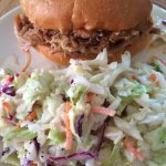 BBQ Broham with extra Cole Slaw
