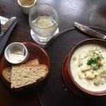 A most rich and delicious potato leek soup