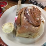 The Famous Cinnamon Roll (it's taller than it looks here)
