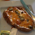 Spud Ole with Veggie Chili Cheese and Jalapeño at McAlister's Deli Lansing Eastwood Towne Center