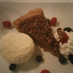 Their variant on pecan pie--perfect