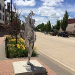 Iowa River Landing Sculptor Walk
