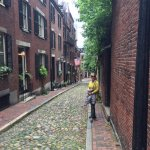 Beacon Hill Laneway near Charles St, Boston