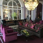 Hall d entrée Grand Hotel